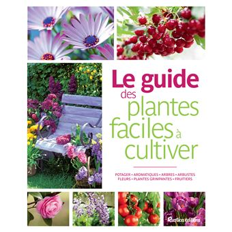 Le guide des plantes faciles cultiver cartonn for Le guide des prix