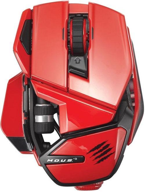 Souris Mad Catz M.O.U.S.9 - Red PC/Mac
