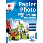 Papier imprimante Micro Application Papier Photo - Brillant - Multi-Formats
