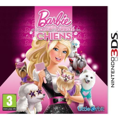 Barbie et le salon de beauté des chiens 3DS - Nintendo 3DS