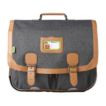 cartable tann 39 s classic gris chin et naturel 41 cm cartable sac dos primaire achat. Black Bedroom Furniture Sets. Home Design Ideas