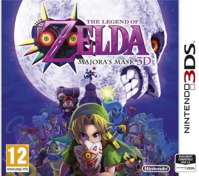 The Legend of Zelda Majora's Mask 3D 3DS - Nintendo 3DS
