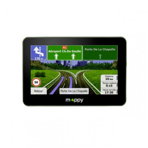 GPS Mappy Ulti S546 Europe 14 pays Cartographie et Trafic à vie