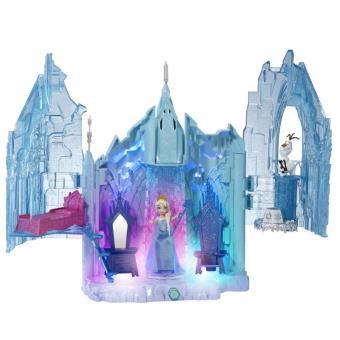 Le ch teau d 39 elsa mattel disney frozen la reine des neiges - Chateau de la reine des neige ...