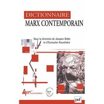 dictionnaire marx contemporain 2001 pdf