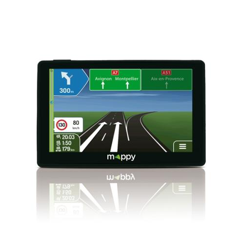 GPS Mappy Ulti S559 Europe 14 pays Cartographie et Trafic à vie