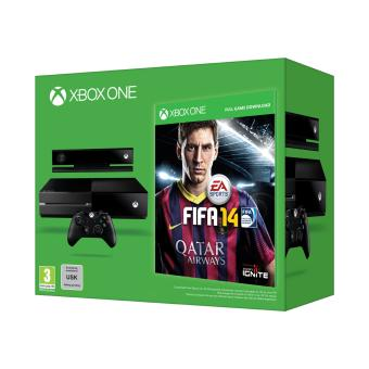 console microsoft xbox one fifa 14 capteur kinect. Black Bedroom Furniture Sets. Home Design Ideas
