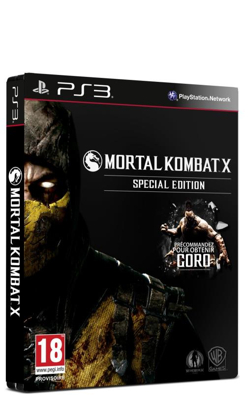 Mortal Kombat X Special Edition PS3 - PlayStation 3
