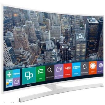 tv samsung ue55ju6510 uhd 4k incurv blanc tv lcd 50 39 55 39 achat prix fnac. Black Bedroom Furniture Sets. Home Design Ideas