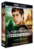 Coffret Le Labyrinthe 2 Films : Le Labyrinthe ; La Terre Brûlée 4k Ultra Hd