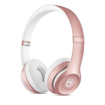 casque beats solo2 wireless or rose casque audio achat. Black Bedroom Furniture Sets. Home Design Ideas