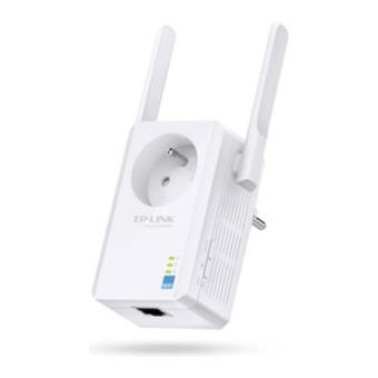 R p teur wifi tp link n 300 mo s avec prise gigogne fnac - Repeteur wifi cpl ...