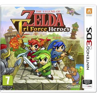The legend of zelda triforce heroes 3ds sur nintendo 3ds for Achat maison zelda