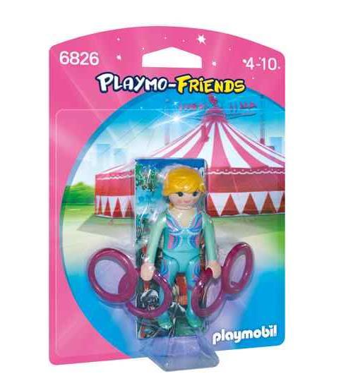 PLAYMO-FRIENDS : Les nouvelles figurines à collectionner ! Gymnaste avec anneaux.
