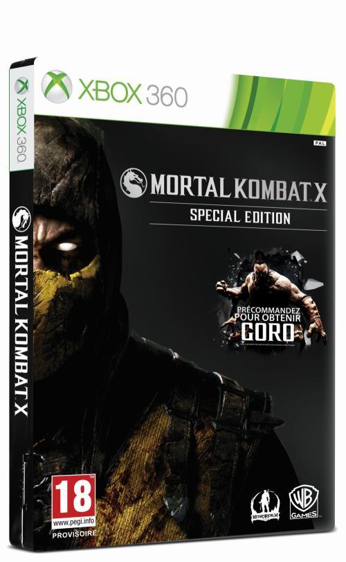 Mortal Kombat X Special Edition Xbox 360 - Xbox 360