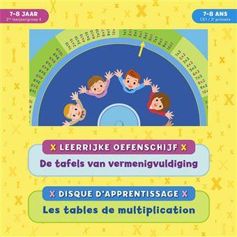 Les tables de multiplication disque d 39 apprentissage for Apprentissage table de multiplication