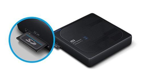 Western digital Disque Dur Externe Western Digital My Passport Wireless Pro 2 To - Disque dur externe