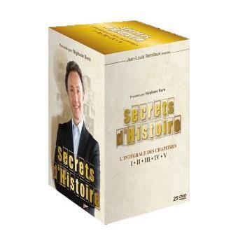 coffret secrets d 39 histoire chapitres 1 5 dvd dvd. Black Bedroom Furniture Sets. Home Design Ideas
