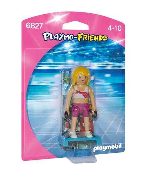 PLAYMO-FRIENDS : Les nouvelles figurines à collectionner ! Sportive avec step.