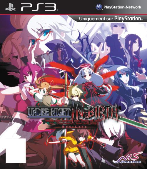 Under Night In-Birth Exe : Late PS3 - PlayStation 3
