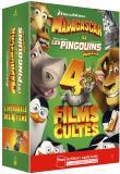 L'intégrale Madagascar + Les Pingouins de Madagascar - Coffret Fnac 5 DVD (DVD)