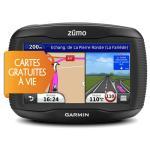 Navigation GPS GARMIN ZUMO 340LM NOIR EUROPE 24 PAYS CARTE A VIE