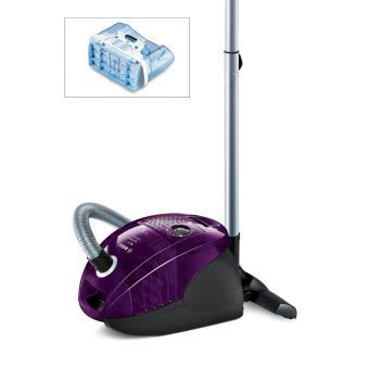 aspirateur avec ou sans sac bosch bag bagless gl30 violet. Black Bedroom Furniture Sets. Home Design Ideas