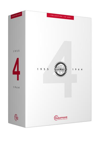 Coffret Gaumont 120 ans Volume 4 1955-1964 DVD