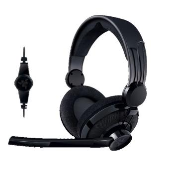 casque gaming razer carcharias pour pc et microsoft xbox 360 casque. Black Bedroom Furniture Sets. Home Design Ideas