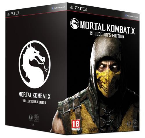 Mortal Kombat X Collector PS3 - PlayStation 3