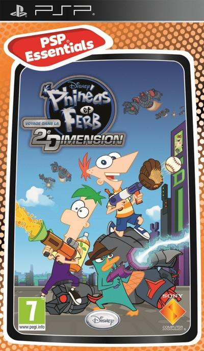 Phineas et Ferb Gamme Essentiels PSP - PSP