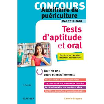 concours auxiliaire de pu riculture tests d 39 aptitude et oral ifap 2017 2018 broch. Black Bedroom Furniture Sets. Home Design Ideas
