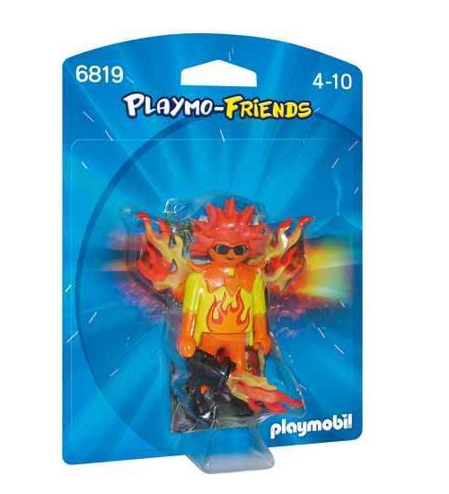 PLAYMO-FRIENDS : Les nouvelles figurines à collectionner ! Un personnage mutant avec ses accessoires.