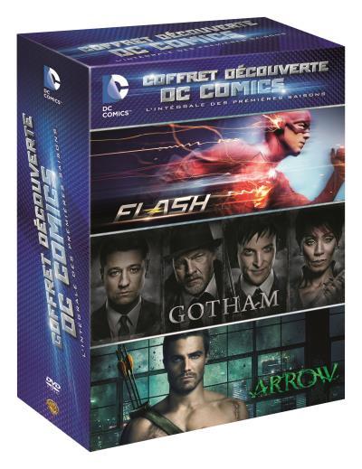 Coffret Découverte DC Saison 1 DVD