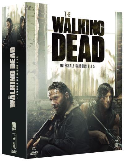 Coffret The Walking Dead Intégrale saisons 1 à 5 DVD