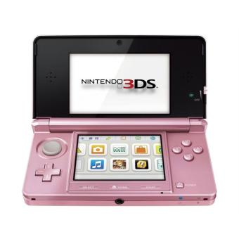 console nintendo 3ds rose console de jeux portable. Black Bedroom Furniture Sets. Home Design Ideas