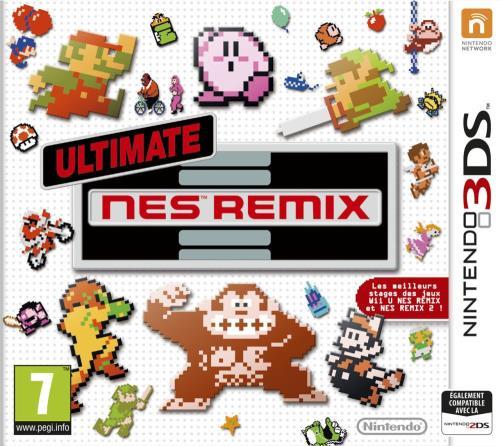 Ultimate Nes Remix 3DS - Nintendo 3DS