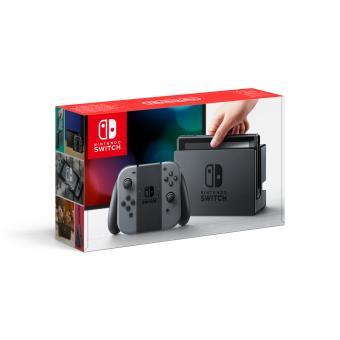 Nintendo Switch met twee grijze Joy-Con