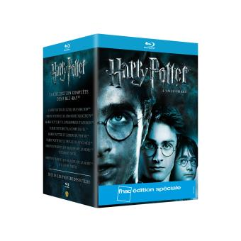 harry potter harry potter l 39 int grale coffret des 8 films edition sp ciale fnac blu ray. Black Bedroom Furniture Sets. Home Design Ideas