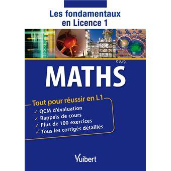 Mathématiques : les fondamentaux en licence