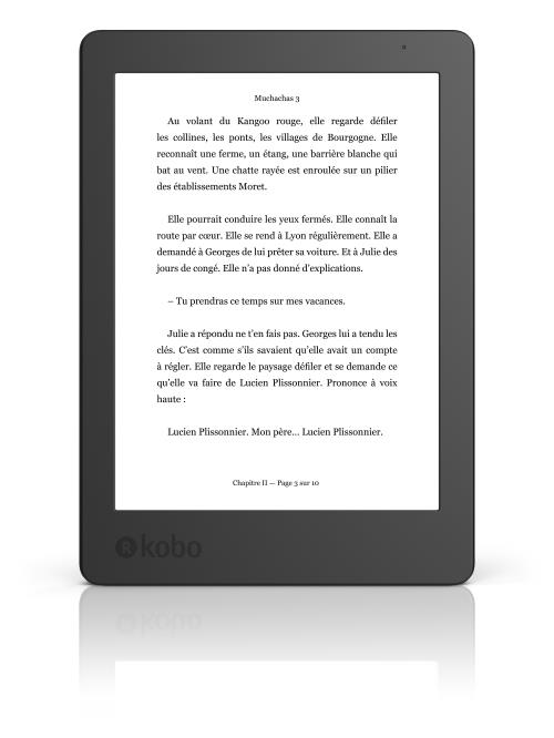 Liseuse numérique Kobo by Fnac Kobo Aura 2ème édition