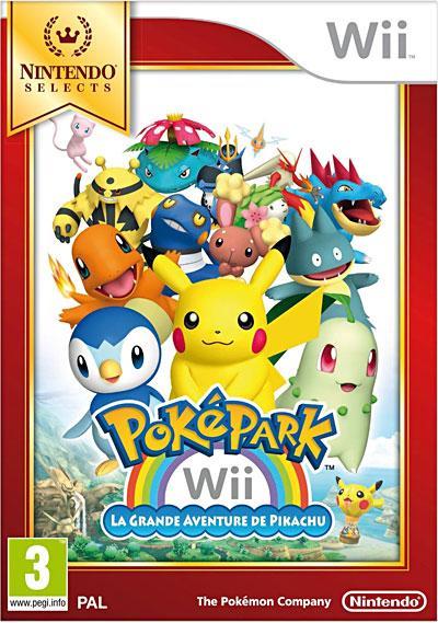 PokéPark La Grande Aventure de Pikachu Gamme Selects - Nintendo Wii