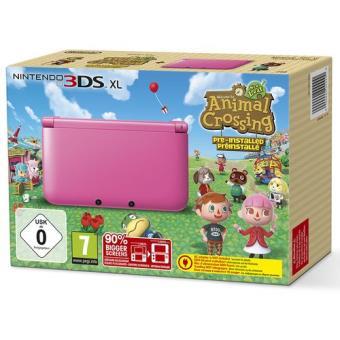 Console nintendo 3ds xl rose animal crossing console de jeux portable top prix sur - Console 3 ds xl pas cher ...