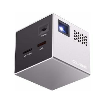 mini vid oprojecteur rif6 cube vid o projecteur dlp achat prix fnac. Black Bedroom Furniture Sets. Home Design Ideas