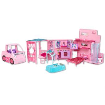 barbie camping car equestre mattel accessoire poup e. Black Bedroom Furniture Sets. Home Design Ideas