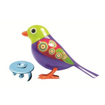 Oiseau interactif digibird avec bague silverlit jouet musical acheter sur - Dessin oiseau qui chante ...