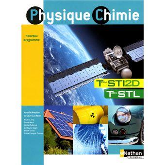 Physique chimie ter sti2d/stl