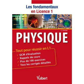 Physique : les fondamentaux en licence
