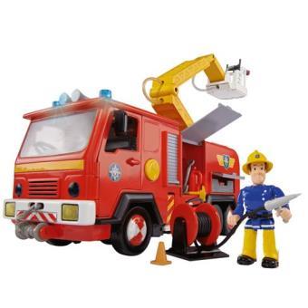 Camion de pompiers jupiter avec figurine sam le pompier - Photo sam le pompier ...