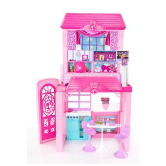 barbie maison de vacances mattel univers miniature achat prix fnac. Black Bedroom Furniture Sets. Home Design Ideas